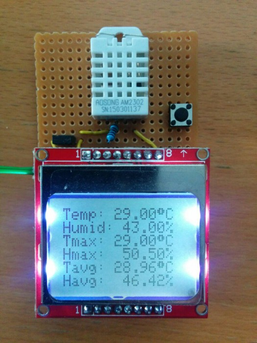 atmega328 thermo hygrometer mit lcd fusionimage blog. Black Bedroom Furniture Sets. Home Design Ideas
